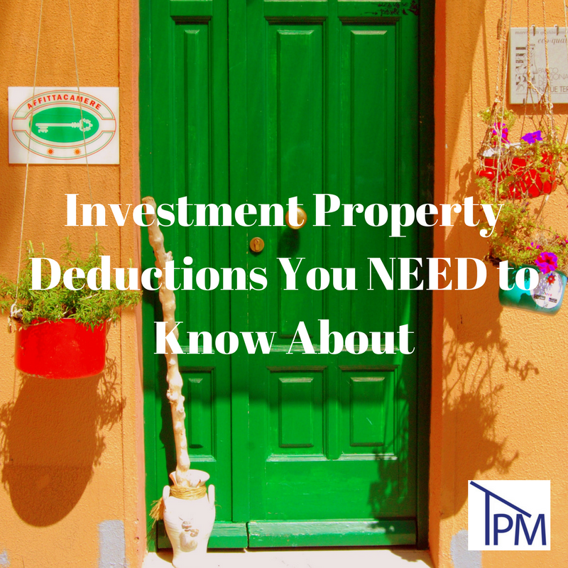 Investment Property Tax Deductions You Need to Know About